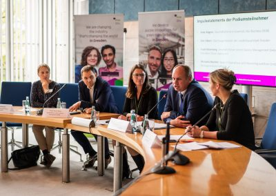 Pressekonferenz Intap International Talent Wanted Campaign