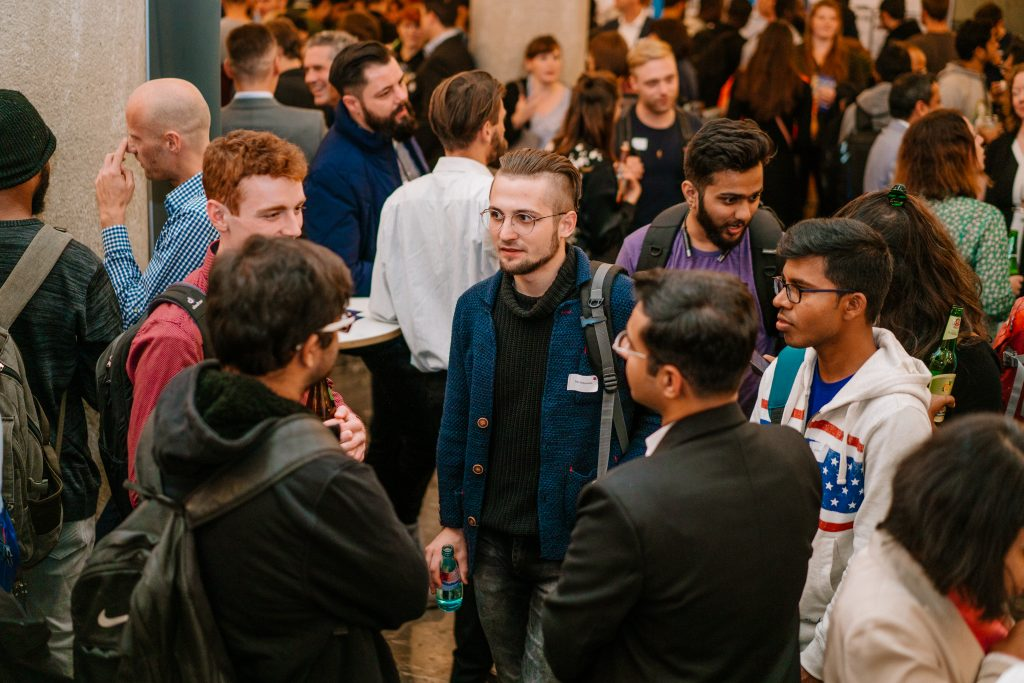 Networking session during the International Talent Wanted campaign from Intap