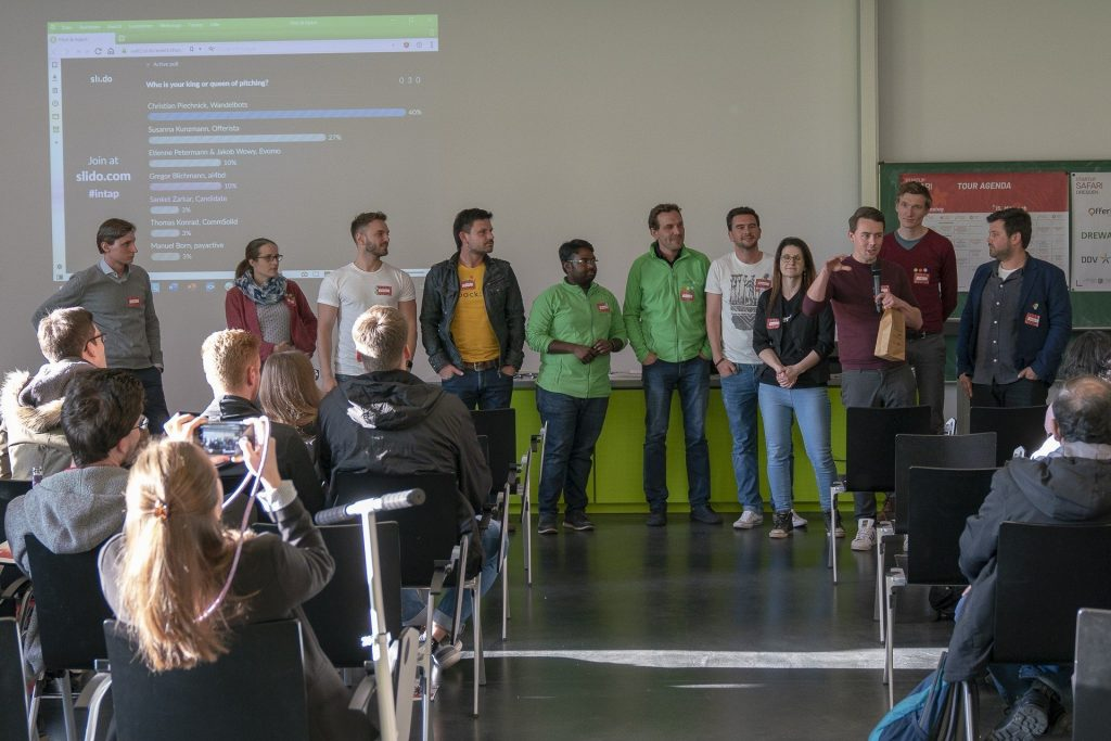 intap job and networking event in Dresden