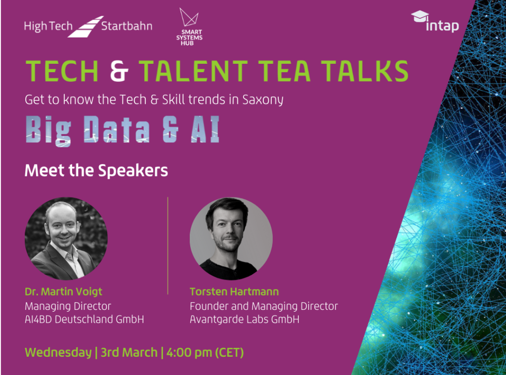 Tea Talks Big Data & AI Speaker