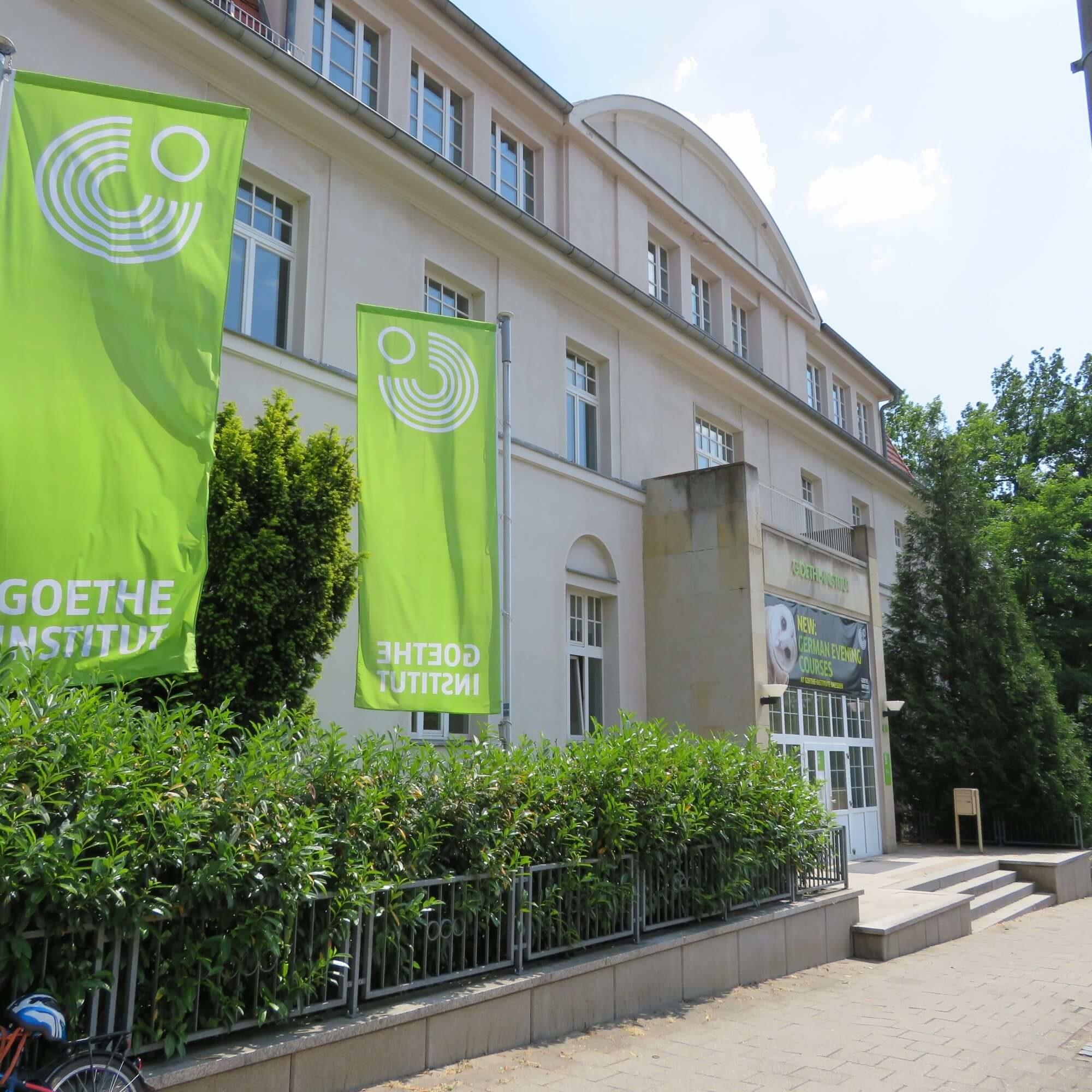 The Goethe-Institut Dresden from outside