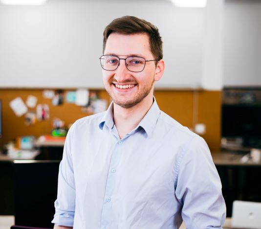 Photo of intap team member Benedikt Junge